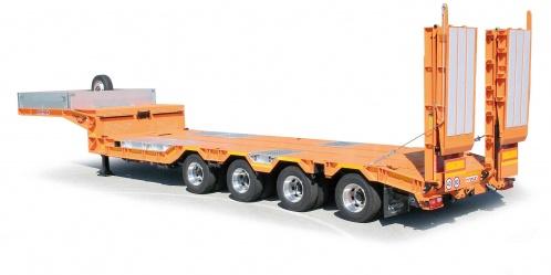 Semitrailers Bertoja Heavy Semitrailer Up To 10 Axles